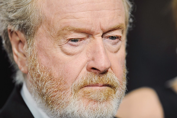 LONDON, ENGLAND - FEBRUARY 14: Ridley Scott attends the EE British Academy Film Awards at The Royal Opera House on February 14, 2016 in London, England. (Photo by Dave J Hogan/Dave J Hogan/Getty Images)
