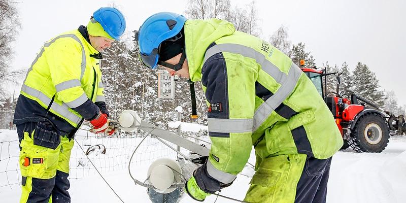 Hårt arbete att skydda elnätet - Katternö Digital 1   2019