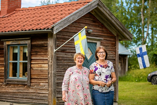 Britta Nygårdin ja Monica Hagan