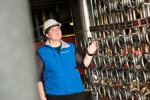 Kanteleen Voiman Haapaveden voimala on jatkuvassa sähköntuotantovalmiudessa
