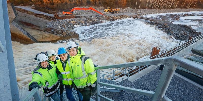 Nya turbinen redo för vårfloden - Katternö Digital 1 | 2020