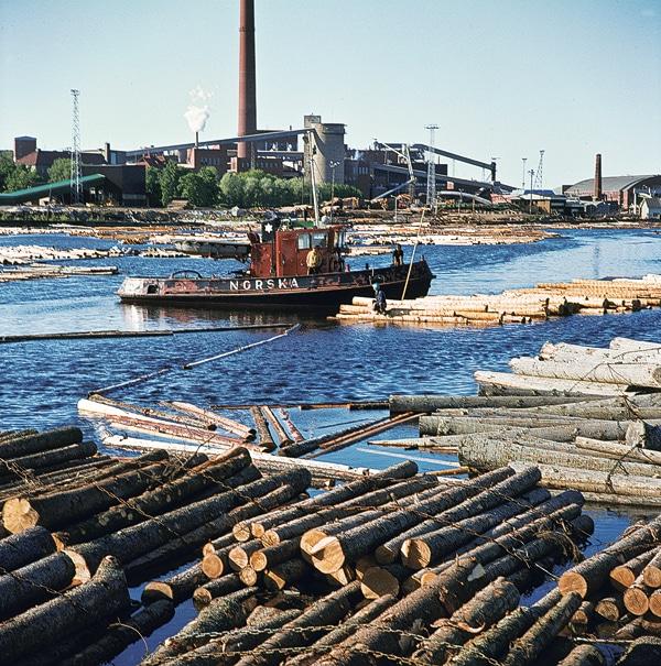 Båten Norska i Kotka